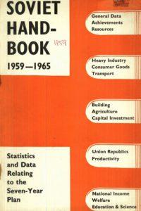 1959_Soviet Hand-Book_1959-1965_Statistics and Data