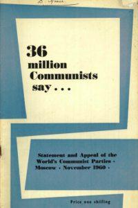 1960_36 Million Communists Say_World CPs