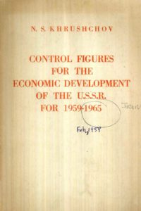 1960_Control Figures_Economic Dev_USSR_1959-1965