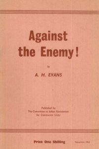 1963_Against the Enemy_A.H. Evans