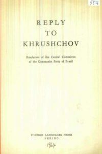 1964_Reply to Khrushchov_Resolution_CC_CP Brazil