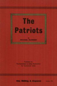 1964_The Patriots_Michael McCreery