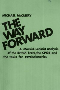 1964_The Way Forward_A Marxist Analysis_Michael McCreery