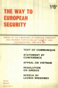 1967_The Way to European Security_Report