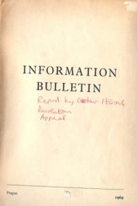 1969_Information Bulletin_Reports_Gustav Husak