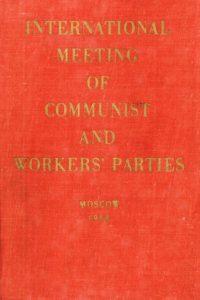 1969_International Meeting_Communist & Workers' Parties_Moscow