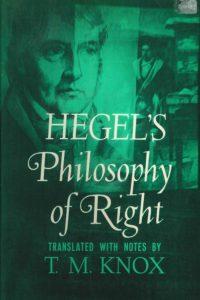 1971_Hegel's Philosophy of Right_Hegel