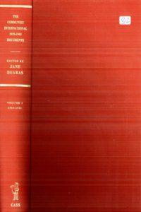 1971_The Communist International_Vol 1_1919-1922_Jane Degras