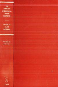 1971_The Communist International_Vol 3_1929-1943_Jane Degras