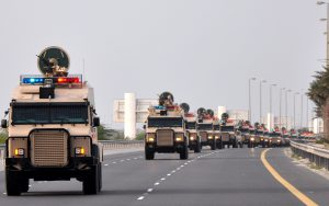 SAUDI ARABIA TROOPS ARRIVE IN BAHRAIN